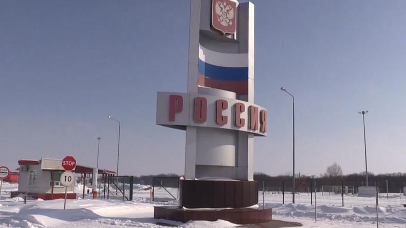 Russland: Grenzschutzbeamte entdeckten im Jahr 2017 mehr als 1.400 Terrorverdächtige