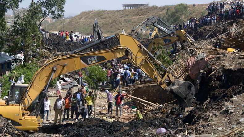 Mindestens 23 Tote nach Erdrutsch in Äthiopien