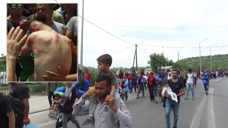 Griechenland: Extremer Gewaltausbruch in Flüchtlingslager - Kurden verlassen aus Angst das Camp