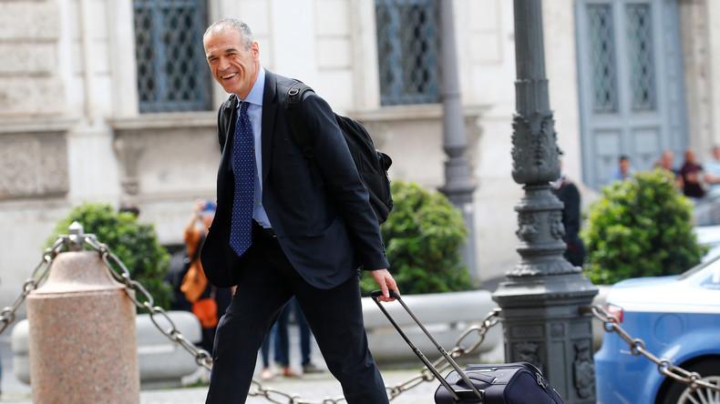 Italiens Präsident beauftragt IWF-Mann Cottarelli mit neuer Regierungsbildung