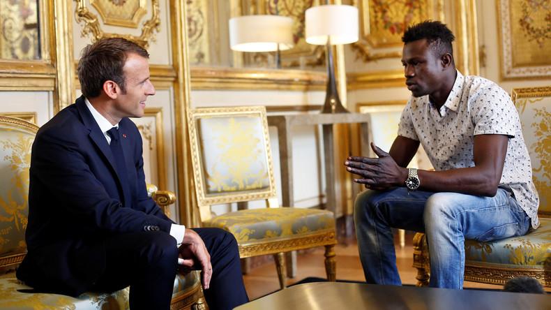 """Weil er ein Kind rettete: """"Spiderman"""" aus Mali soll Franzose werden"""
