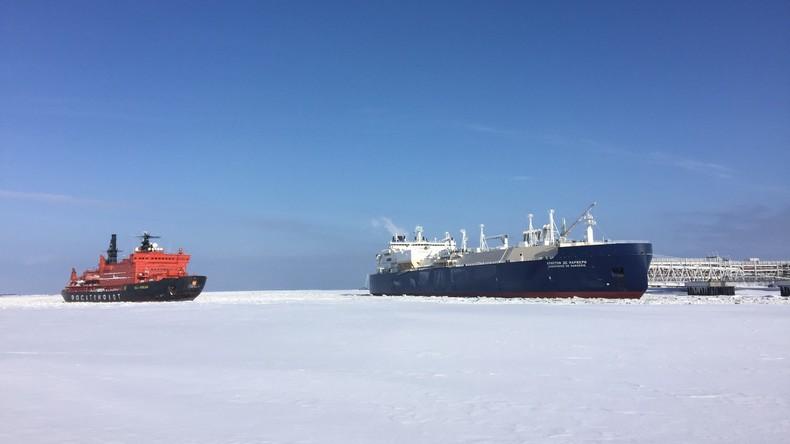 Frankreichs Energiekonzern Total beteiligt sich an russischem Arktis-Flüssiggas-Projekt