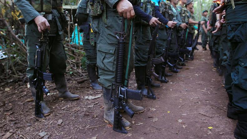 Schwerer Schlag gegen abtrünnige FARC-Rebellen in Kolumbien