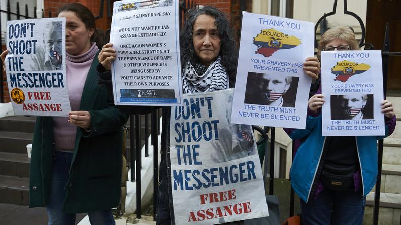 Max Blumenthal: USA haben kein Interesse an den Aussagen von Assange zur Russlandaffäre