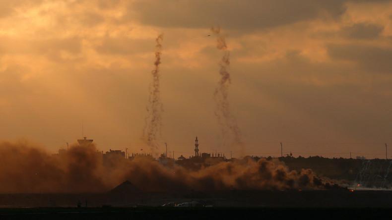 Israel greift nach Granatenbeschuss Ziele im Gazastreifen an