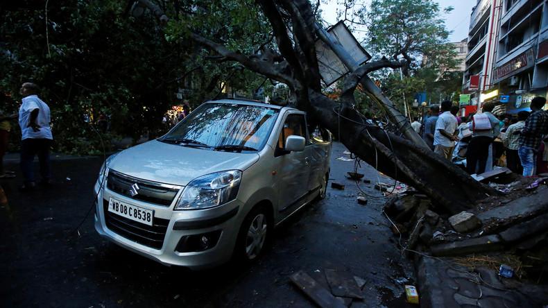Mindestens 46 Tote nach Unwettern in Indien