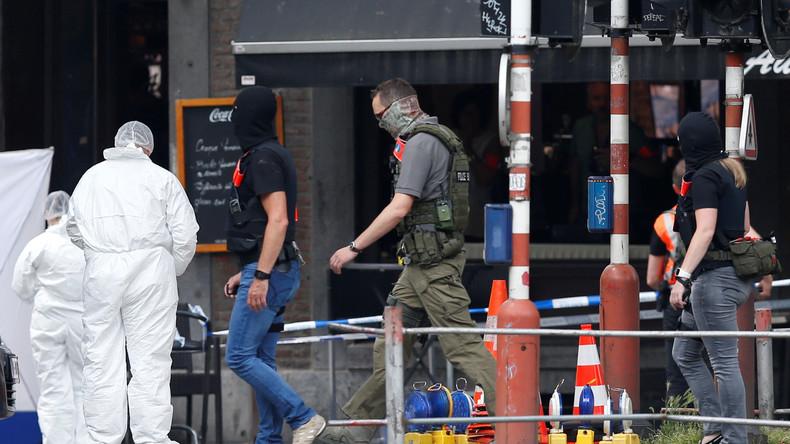 """Belgische Ermittler: Angreifer von Lüttich schrie """"Allahu Akbar"""" und stand auf Gefährderliste"""