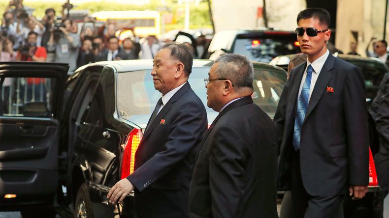 US-Außenminister trifft Nordkoreas früheren Geheimdienstchef in New York
