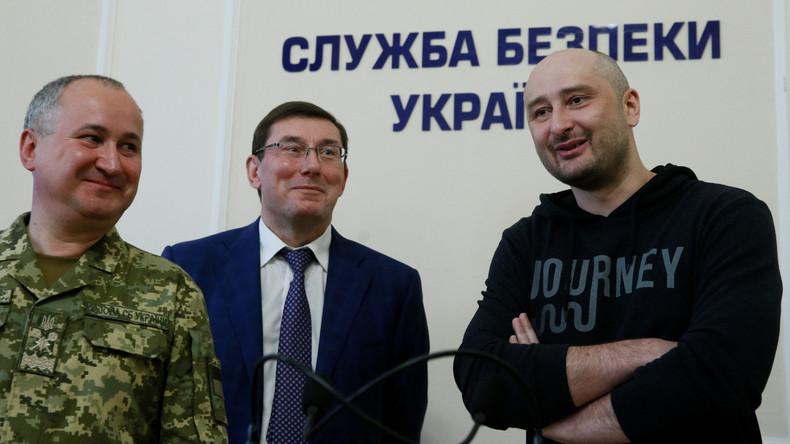 """""""Zynischer Budenzauber"""" - LINKE fordert internationale Untersuchung zu Vorgängen um Babtschenko"""