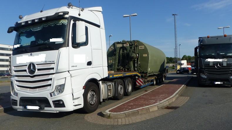 US-Militärtransporte durch Deutschland: Schon wieder marode Lkws aus dem Verkehr gezogen