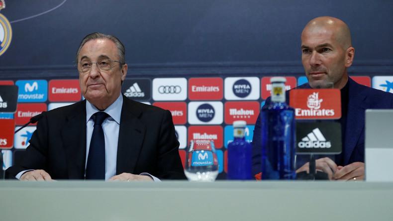 Zinédine Zidane tritt als Trainer von Real Madrid zurück