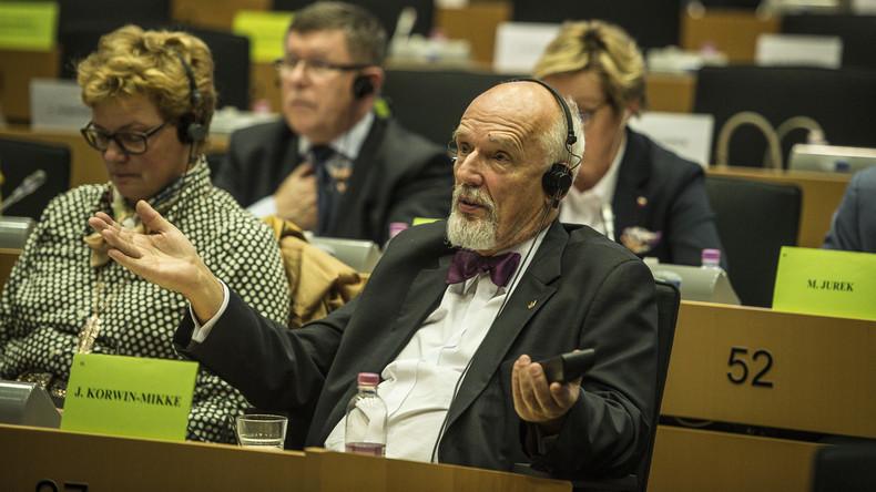 EU-Parlament: Keine Strafe für polnischen Politiker wegen sexistischer Äußerungen