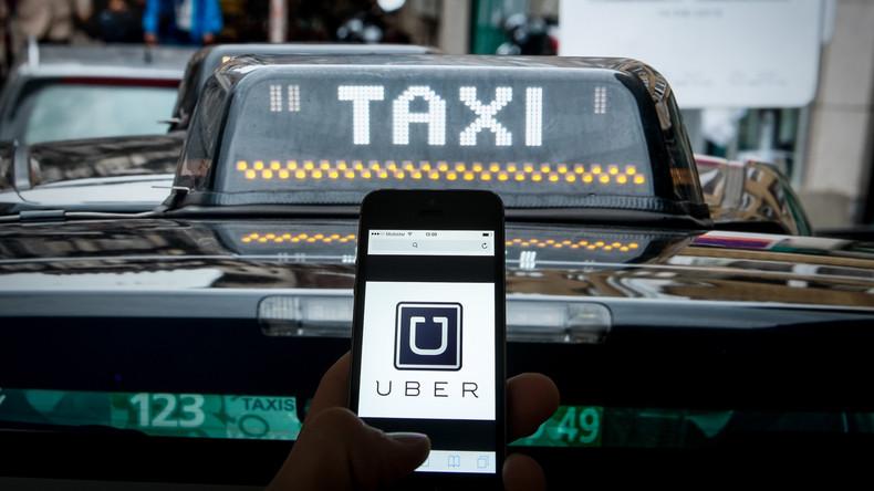 """Taxidienst Uber führt neue Sicherheitsoption ein: """"Panikknopf"""" soll Fahrgäste schützen"""