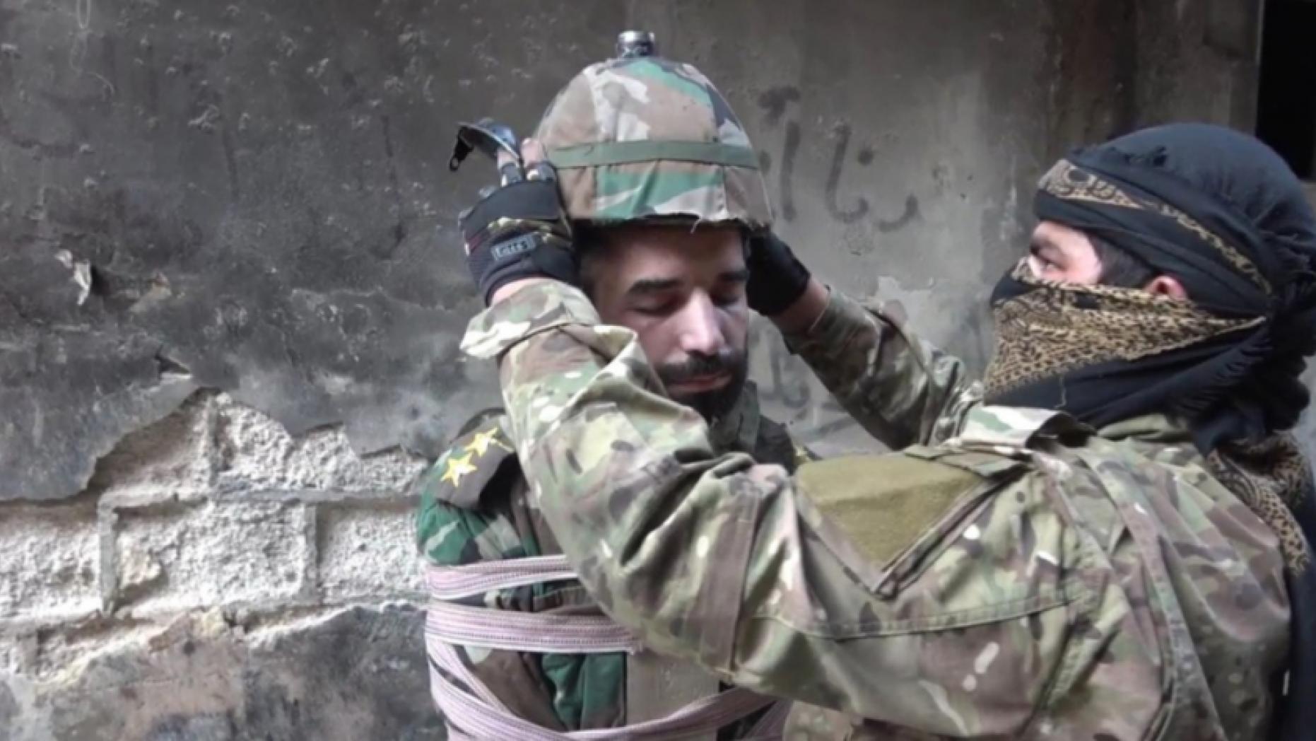 IS überbietet sich selbst in Menschenverachtung: Syrischer Soldat als menschliche Rakete eingesetzt