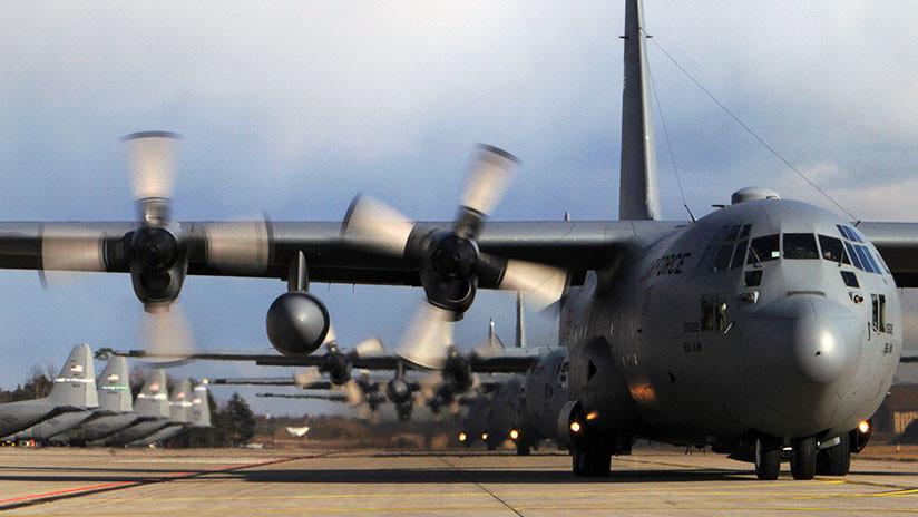 US-Militärflugzeug C-130 in Georgia abgestürzt: Mindestens 10 Tote befürchtet