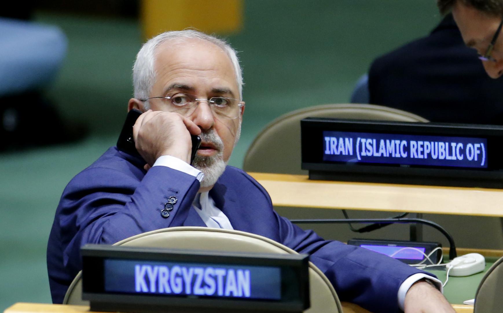 Irans Außenminister zu USA: Wir haben in Jahrhunderten niemanden angegriffen - Wie ist eure Bilanz?