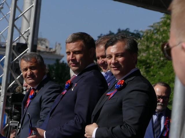 Vier Jahre Volksrepublik Donezk: Ein Protostaat feiert seinen Unabhängigkeitstag