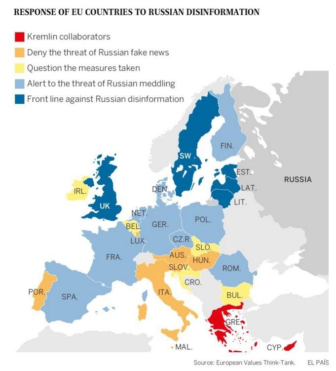 """Kampf für europäische Werte: Spanien macht gegen """"russische Desinformationskampagne"""" mobil"""