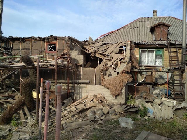 Krieg im Donbass: Bombardierung ist intensiver geworden