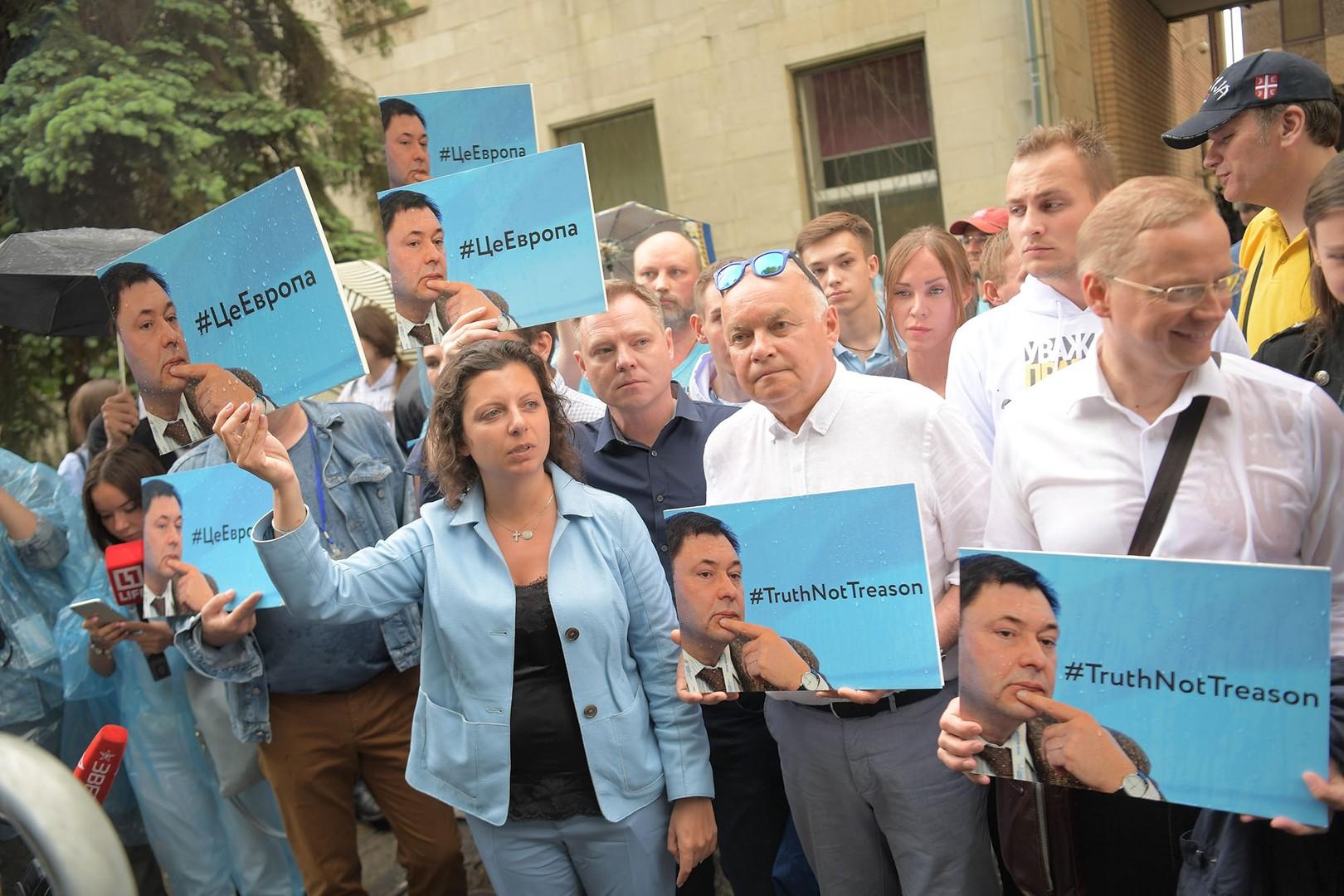 Verfolgung russischer Medien in der Ukraine - Schadenfreude und Schweigen im Westen