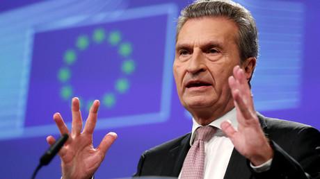 Möchte das Deutschland und Österreich mehr einzahlen: EU-Kommissar Günther Oettinger.