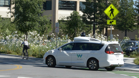 Roboterwagen von Google-Schwesterfirma Waymo in Unfall verwickelt (Archivbild)