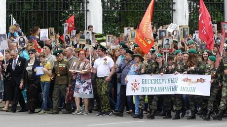 Der Tag des Sieges hat in Russland nicht an Bedeutung verloren.
