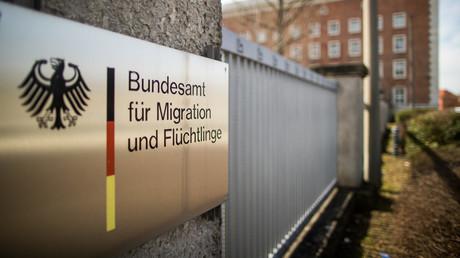 Außenansicht des Bundesamtes für Migration und Flüchtlinge (BAMF) in Nürnberg.