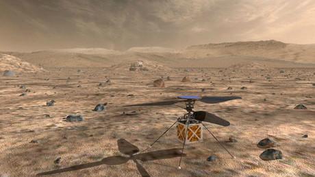 NASA schickt Mini-Helikopter zum Mars