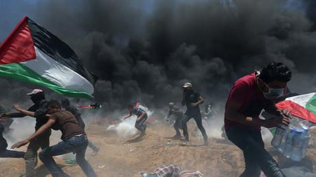 Am Gazastreifen ist es zu blutigen Zusammenstößen zwischen Israel und Palästinensern gekommen.