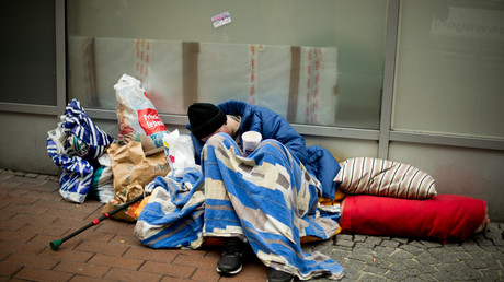 Jugendlicher Obdachloser in Dortmund