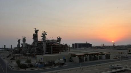 Blick auf die South-Pars-Energie-Sonderwirtschaftszone, südwestlich von Teheran