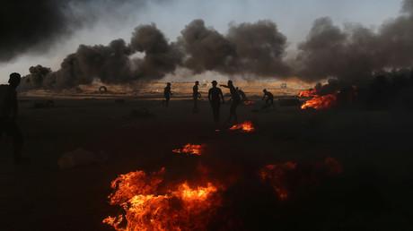 Israel fliegt Luftangriffe auf Ziele im Gazastreifen