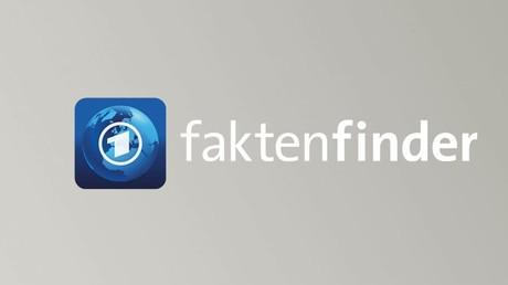 Eher Faktenfilter als Faktenfinder - Screenshot: faktenfinder.tagesschau.de