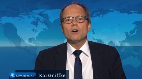 Kai Gniffke: Seit 2006 Chefredakteur von ARD-aktuell und somit auch von Tagesschau und der Tagesthemen - Quelle: Screenshot tagesschau.de