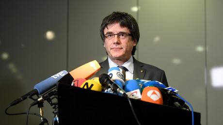 Katalanischer Ex-Präsident bleibt auf freiem Fuß - Gericht lehnt Haftantrag gegen Puigdemont ab (Archivbild)