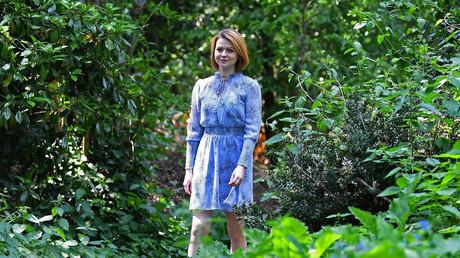 Julia Skripal spricht zu Reuters auf einem unbekannten Grundstück in London, 23. Mai 2018