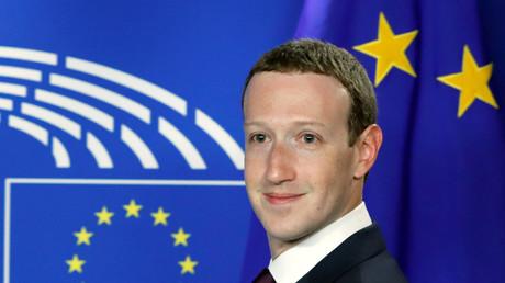 Mark Zuckerberg im EU-Parlament, Brüssel, Belgien, 22. Mai 2018.