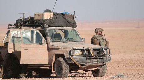 IS-nahe Gruppen gruppieren sich unter den Augen von US-Spezialeinheiten neu - Archivbild von US-Spezialeinheiten im syrischen al-Tanf