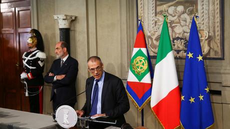 Technokrat von Deutschlands und EU-Gnaden: Italiens Präsident Sergio Mattarella hat den ehemaligen IWF-Direktor Carlo Cottarelli mit der Bildung einer Übergangsregierung beauftragt.