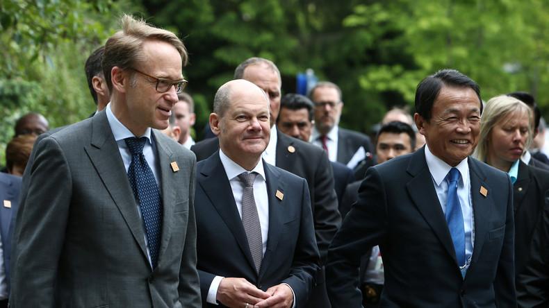 """US-Schutzzölle spalten G7: Vizekanzler Scholz kündigt """"starke und kluge Reaktion"""" der EU an"""