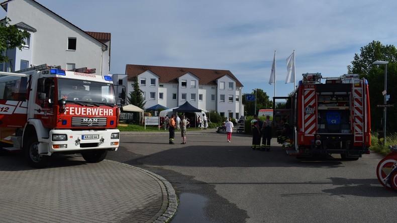 Brand in Seniorenheim bei Karlsruhe:  Zwei Frauen lebensgefährlich verletzt