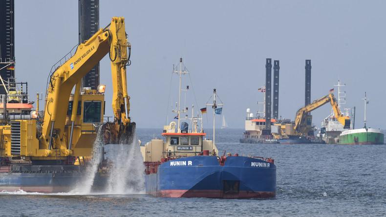 Gericht lehnt Eilantrag gegen Bau von Gas-Pipeline Nord Stream 2 ab