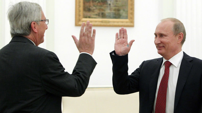 Wegen Handelskrieg mit USA: EU-Kommissionspräsident Juncker verlangt Ende des Russland-Bashings