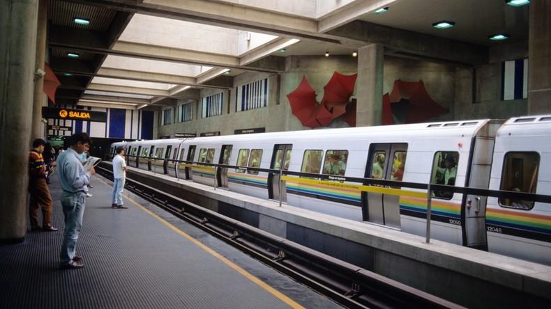 U-Bahn in Venezuelas Hauptstadt Caracas kostenlos: Kein Geld für Papier für Fahrkarten