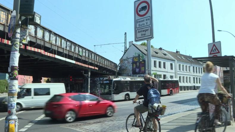 """Hamburger reagieren auf erste Diesel-Fahrverbote: """"Die fahren dann einfach woanders lang"""""""