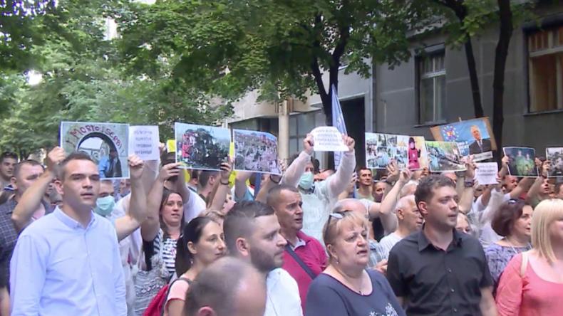 Serbien: Polizei hindert Nationalisten daran, albanisches Kulturfestival zu stören