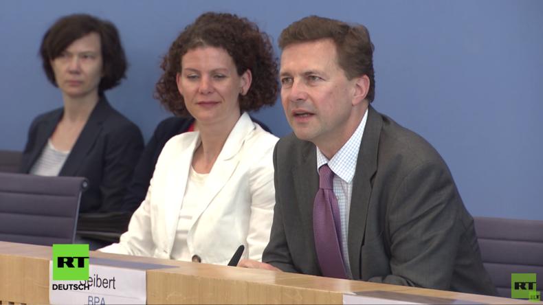 """Regierungspressekonferenz: Merkel-Regierung vom Fall Babtschenko """"überrascht"""", Handelskrieg, NATO"""
