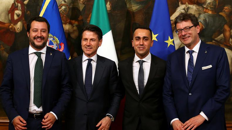 Absolutes Novum für Europa: Neue Regierung in Italien offiziell im Amt vereidigt