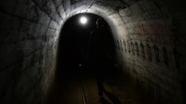 Exklusives Video gibt bisher unbekannte Einblicke in Regenwurmlager-Katakomben des Dritten Reichs